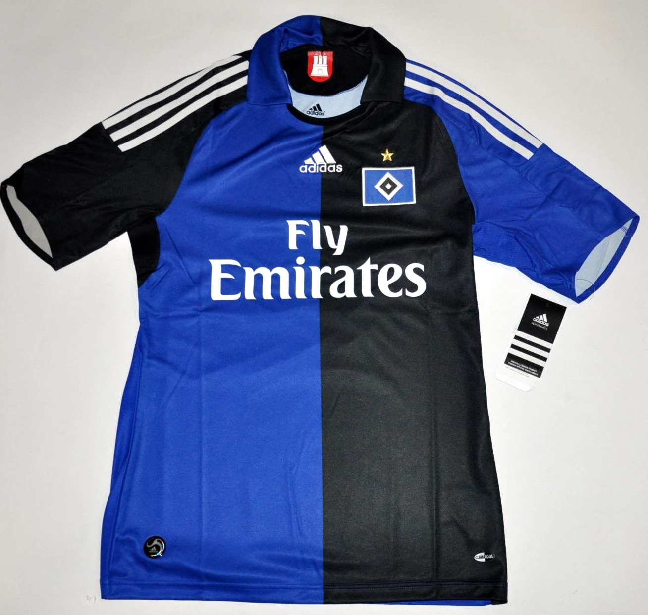 2008 10 hsv trikot gr s hamburg adidas originals blau. Black Bedroom Furniture Sets. Home Design Ideas